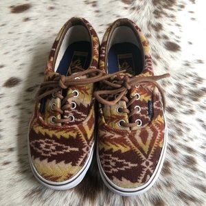 Vans Shoes - Like New Vans x Pendleton Era shoes - Sz 7.5